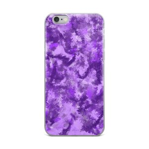 Purple Passion iPhone case