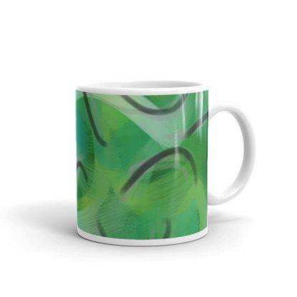 Envy Me Green mug