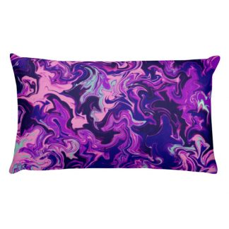 Purple Daydream Rectangular Pillow