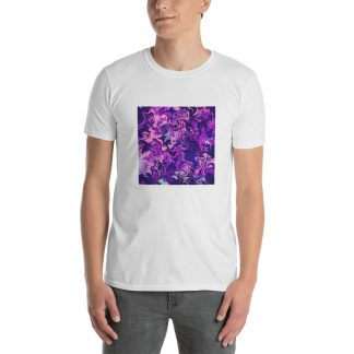 Purple Daydream Short-Sleeve Unisex T-Shirt
