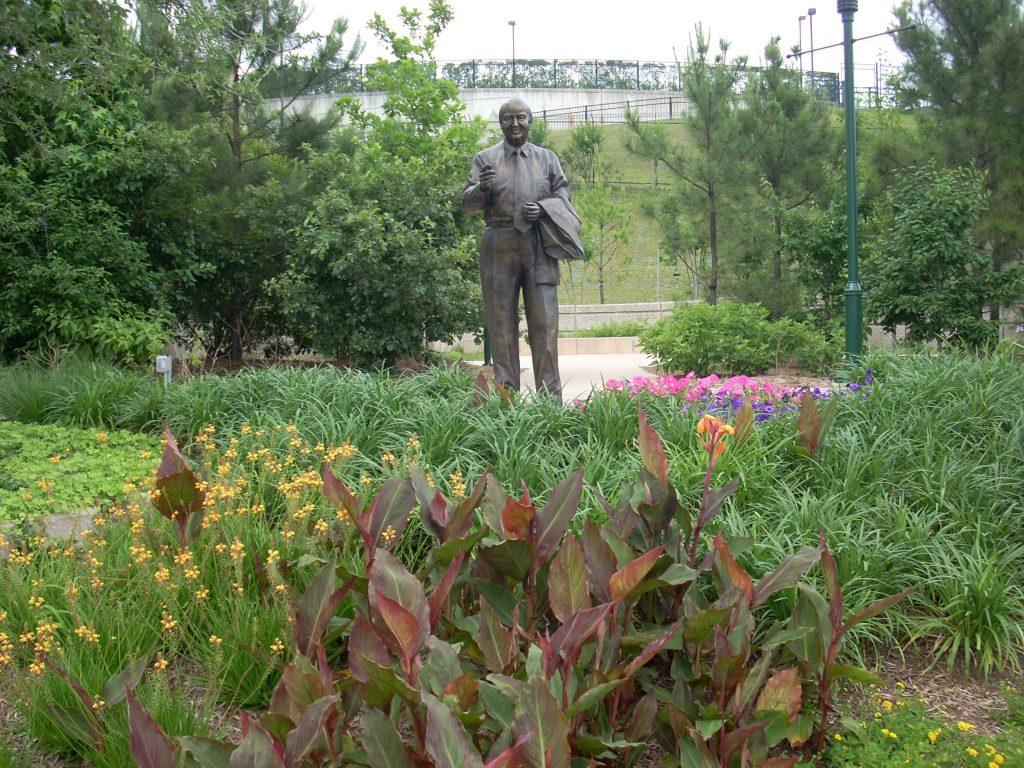 Woodlands Waterway statue