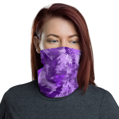 Purple Passion Neck Gaiter