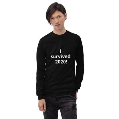 I Survived 2020 Men's Long Sleeve Shirt